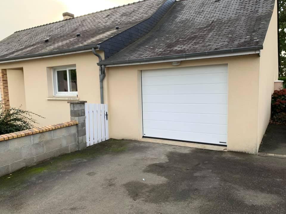 M.Matic Pergola Château Gontier Porte De Garage 324