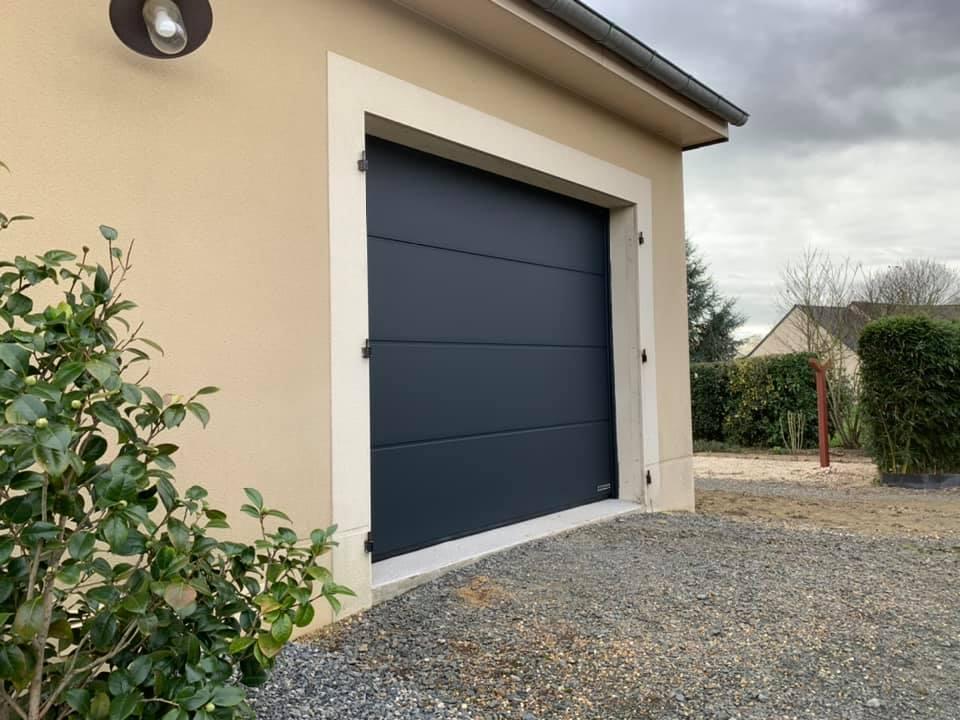 M.Matic Pergola Château Gontier Porte Garage 331